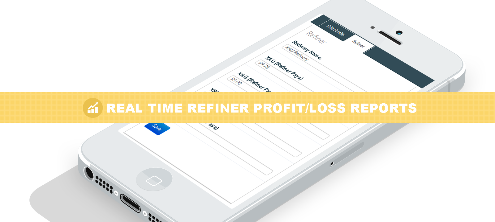 Track profit and loss on your precious metals refining portfolio.